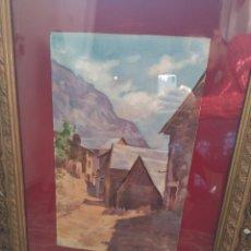 Varios objetos de Arte: ACUARELA. Lote 103100443