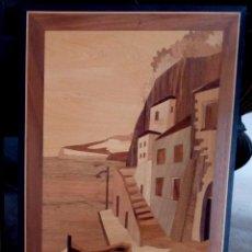 Varios objetos de Arte: CUADRO REALIZADO EN MARQUETERIA - 38,5 X 28 CMS.. Lote 103790615