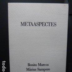 Varios objetos de Arte: METAASPECTES- B.MARCOS-M.SAMPERE -POEMAS LITOGRAFIAS CON FIRMA AUTORES EDICION DE 75 .N.29. Lote 103797923
