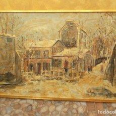 Varios objetos de Arte: MAURICE UTRILLO MONMATRE, DECORACION, MUY BONITO. Lote 103916479