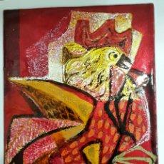 Varios objetos de Arte: ESMALTE AL FUEGO DE MONTSERRAT MAINAR (BARCELONA 1928-2015). Lote 104022668