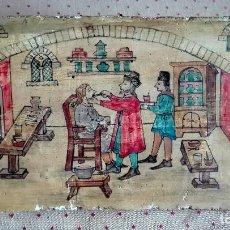 Varios objetos de Arte: PINTURA ITALIANA AL FRESCO. Lote 104053003