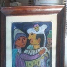 Varios objetos de Arte: PASTEL DE ABRAIDO DEL REY. Lote 103519003