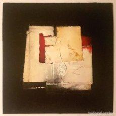Varios objetos de Arte: GRASA MARQUES - OBRA SOBRE CARTÓN - PIEZA ÚNICA SIN TITULO I MEDIDAS 18X18 CM . Lote 104148035