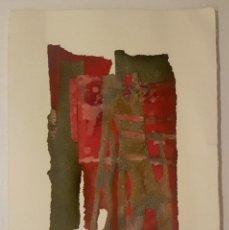 Varios objetos de Arte: GRASA MARQUES - OBRA SOBRE PAPEL - PIEZA ÚNICA - SIN TITULO III - 21X15,5 CM. Lote 104149291