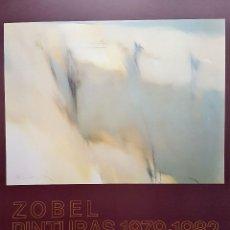Varios objetos de Arte: FERNANDO ZOBEL - CARTEL EXPOSICIÓN ORIGINAL 1982 - MEDIDAS 69,5 X 50 CM. APROX.. . Lote 104255943
