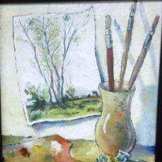Varios objetos de Arte: VILA MONCAU INTERIOR . Lote 105783131
