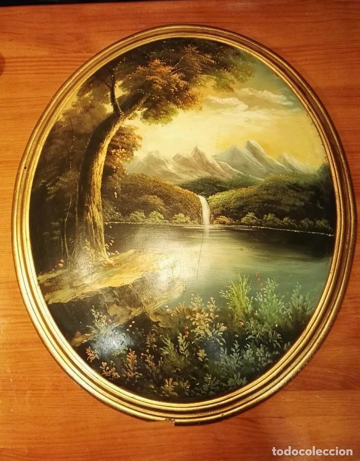 Varios objetos de Arte: Cuadro oval - Foto 4 - 106102119