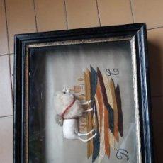Varios objetos de Arte: CUADRO BORDADO. Lote 106186255
