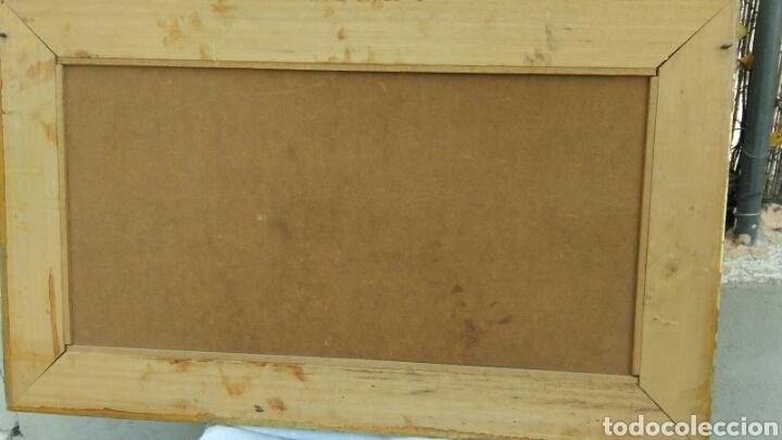 Varios objetos de Arte: La maja desnuda cuadro de grandes dimensiones marco de madera 97 cm x 59 cm Goya - Foto 3 - 106631055
