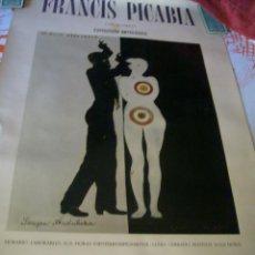 Varios objetos de Arte: CARTEL EXPOSICIÓN FRANCIS PICABIA, SANGRE ANDALUZA MINISTERIO CULTURA 1985 TAMAÑO 56X87 CMS.. Lote 106781639