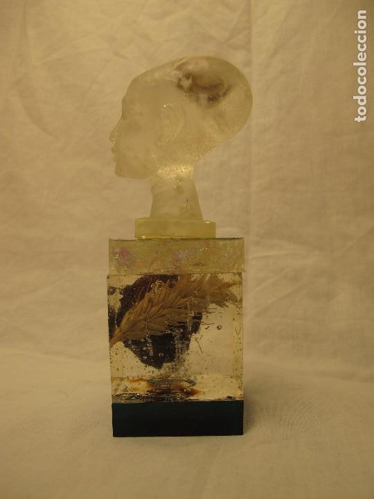 Varios objetos de Arte: Espectacular orgonita escultura transparente epoxi y materiales orgánicos - Foto 2 - 107551555