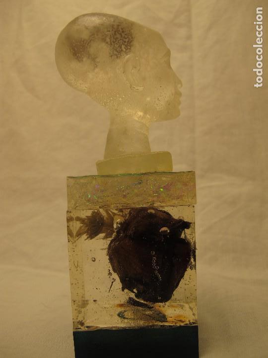 Varios objetos de Arte: Espectacular orgonita escultura transparente epoxi y materiales orgánicos - Foto 5 - 107551555