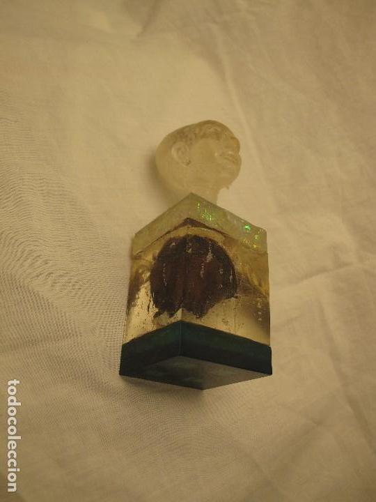 Varios objetos de Arte: Espectacular orgonita escultura transparente epoxi y materiales orgánicos - Foto 7 - 107551555