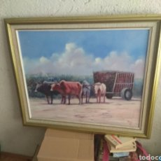 Varios objetos de Arte: CUADRO BUEYES. Lote 108368480
