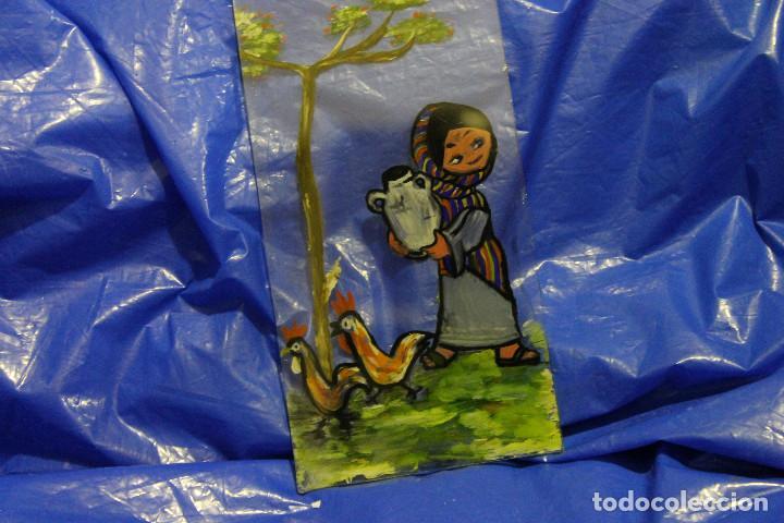 Varios objetos de Arte: CUADROS PINTADOS SOBRE EL CRISTAL, AUTOR DESCONOCIDO - Foto 2 - 109114115