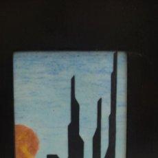 Varios objetos de Arte: PAISAJE / CERAMICA / FIRMADA. Lote 109402243