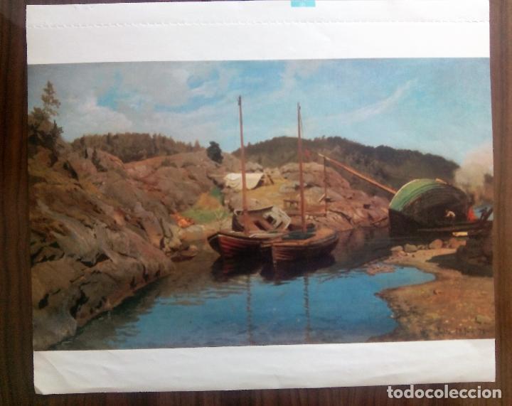 8 LAMINAS DEL CALENDARIO DE ARTE DE BAYER DEL AÑO 1979 (Arte - Varios Objetos de Arte)