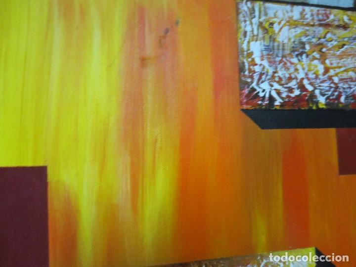 Varios objetos de Arte: desnudo FEMENINO oleo ORIGINAL EN lienzo 90 X 75 pintura vanguardista autor por estudiar - Foto 6 - 110084379