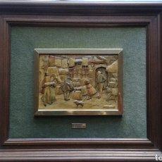 Varios objetos de Arte: CUADRO EN RELIEVE (LAMINA ANTON PIECK). Lote 110106140