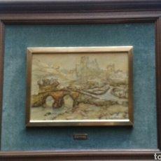 Varios objetos de Arte: CUADRO EN RELIEVE HECHO CON LAMINAS DE ANTON PIECK. Lote 110107074