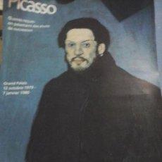 Varios objetos de Arte: CARTEL ORIGINAL EXPOSICIÓN PICASSO GRAND PALAIS 1979 PARÍS.43×60 CMT.. Lote 72462639
