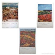 Varios objetos de Arte: LOTE DE 3 CARTELES ORIGINALES DE FRANCISCO LOZANO - 1987 / 93 / 95. Lote 110138171