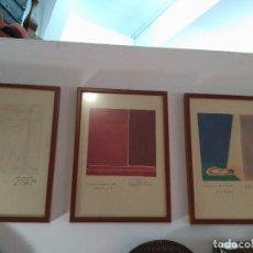 Varios objetos de Arte: 5 CUADROS ORIGINALES DE RAUL EBERHARD EL ALMA DE LA LUNA COLECCIÓN IMPRESIONANTE FIRMADA. Lote 110297887