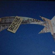 Varios objetos de Arte: JOAN BROSSA POEMA VISIAL - NADAL 1989 - BILLETE DE 5000 PTS TROQUELADO FIRMADO A LAPIZ BROSSA . Lote 110447927