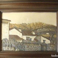 Varios objetos de Arte: CUADRO BAJORRELIEVE POR GALVANOPLASTIA - AVRAMOV. Lote 111053279