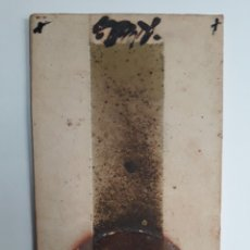 Varios objetos de Arte: RAMÓN PAREDES. TEGULA DE GRES.. Lote 111171627