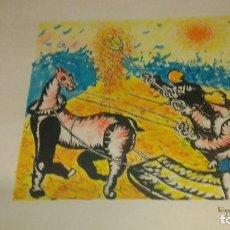 Varios objetos de Arte: JUAN GARCÍA RIPOLLES SERIE SEGADORES. Lote 111329391