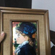 Varios objetos de Arte: CUADRO RENOIR ESMALTADO. Lote 111737147