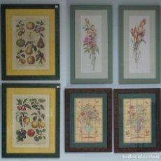 Varios objetos de Arte: PACK 6 CUADROS DECORATIVOS. Lote 112914715
