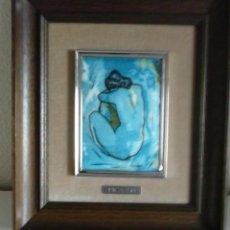 Varios objetos de Arte: ESMALTE MUJER DESNUDA DE PICASSO. Lote 113188011