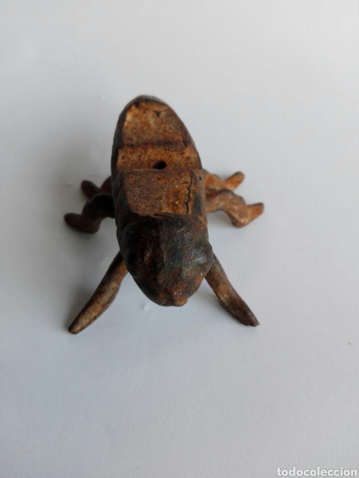 Varios objetos de Arte: UNICA EN TODOCOLECCION PIEZA FIGURA INSECTO METAL IDEAL DECORACIÓN INDUSTRIAL STEAMPUNK - Foto 2 - 113267419