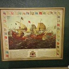 Varios objetos de Arte: CUADRO DE BARCOS 32 X 36. Lote 113327518