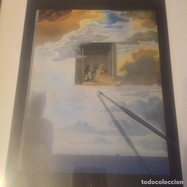 Varios objetos de Arte: LAMINA SALVADOR DALÍ las meninas ,DISTRIBUCIONS DART SURREALISTA S.A 1984 - Foto 2 - 113437511