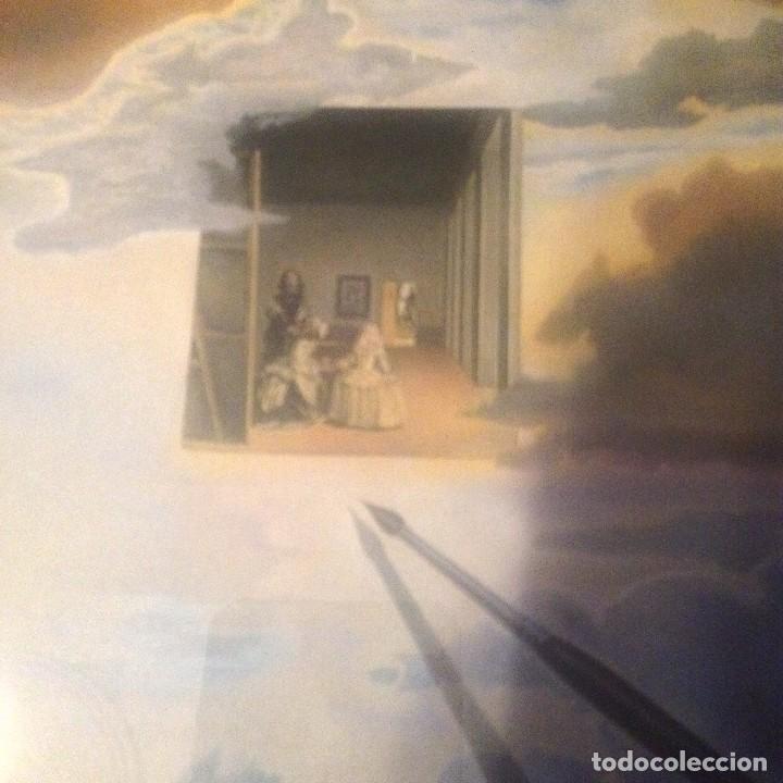 Varios objetos de Arte: LAMINA SALVADOR DALÍ las meninas ,DISTRIBUCIONS DART SURREALISTA S.A 1984 - Foto 3 - 113437511