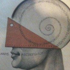 Arte: CARTEL 500 ANYS .1498-1998 GREMI D´ INDUDTRIES GRAFIQUES DE BARCELONA -SUBIRACHS. Lote 113600695