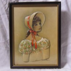 Varios objetos de Arte: CUADRO EN RELIEVE DE ELENA OLIVERA. Lote 113990851