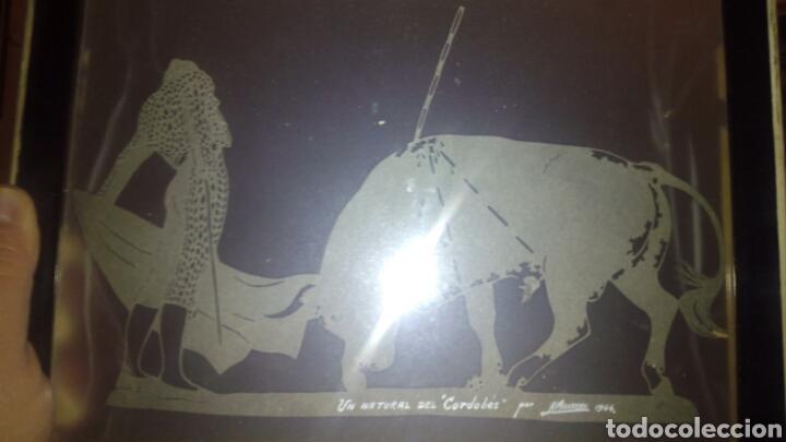 CUADRO DE EL CORDOBES POR A.MONTORO (Arte - Varios Objetos de Arte)