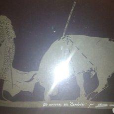 Varios objetos de Arte: CUADRO DE EL CORDOBES POR A.MONTORO. Lote 114113656