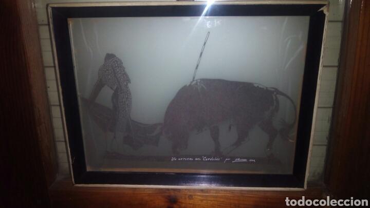 Varios objetos de Arte: Cuadro de el Cordobes por A.Montoro - Foto 4 - 114113656