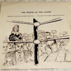 Varios objetos de Arte: ANTIGUA ILUSTRACIÓN DE CHARLES BERGER - EXTRAÍDA DE REVISTA 1957 - 19X19,5CM. Lote 114116675