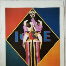 Varios objetos de Arte: CARTEL GRANDE. RICHARD LINDNER.EXPOSICION 1998. ENVIO CERTIFICADO INCLUIDO.. Lote 129012660