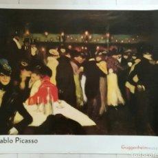Varios objetos de Arte: CARTEL PABLO PICASSO. GUGGENHEIM MUSEUM. ENVIO CERTIFICADO INCLUIDO.. Lote 114203247