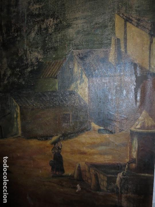 Varios objetos de Arte: ENORME PINTURA ANTIGUA OLEO LIENZO SIGLO XIX XVIII 150 X 120 - Foto 10 - 82969376
