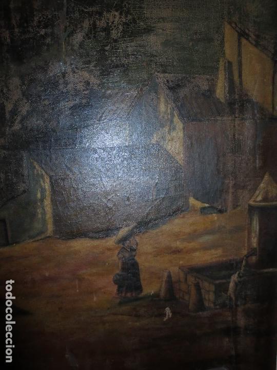 Varios objetos de Arte: ENORME PINTURA ANTIGUA OLEO LIENZO SIGLO XIX XVIII 150 X 120 - Foto 11 - 82969376