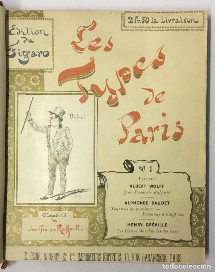 Varios objetos de Arte: LES TYPES DE PARIS. - [Jean-François Raffaëlli ilustr.] - Foto 3 - 114799454